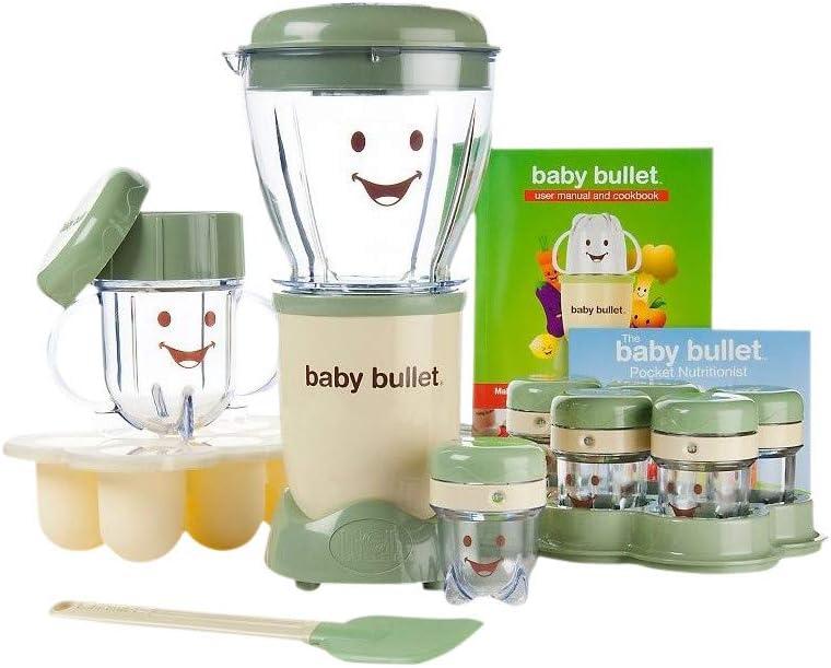 Baby Bullet - Mezclador y agitador para aperitivos de frutas, aperitivos y comidas de bebé: Amazon.es: Hogar