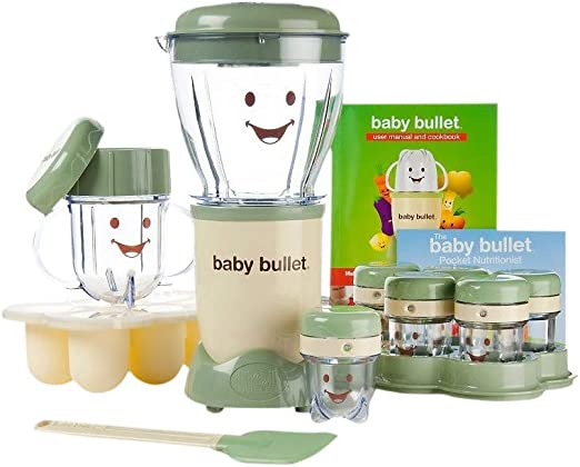 Baby Bullet - Mezclador y agitador para aperitivos de frutas ...