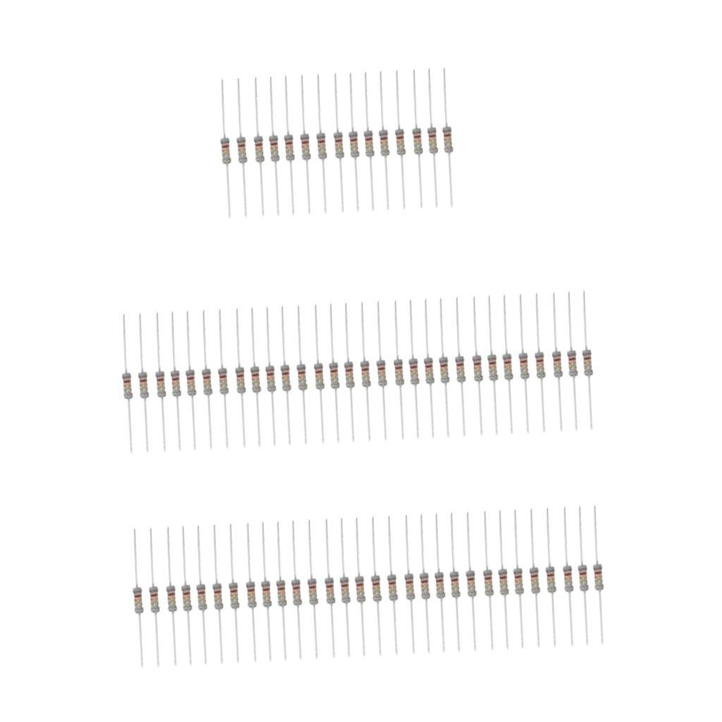 Homyl Carbon Film Widerstä nde Sortiment Kit Set Total Elektronikkomponenten Set - 1W 1K-2M 9cf0b0af5f3943bf17a457172e2b0767