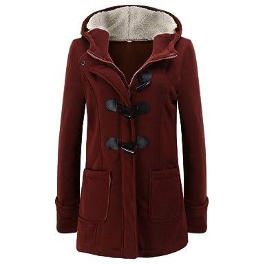 DAY8 Manteau Femme Hiver Chaud Long Duffle Coat Femme