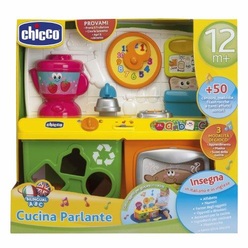 chicco 69030 gioco bilingue abc cucina: amazon.it: prima infanzia - Cucina Per Bambini Chicco