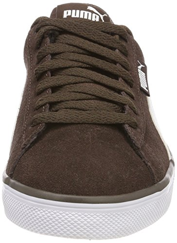 Urban Adulte Basses Sneakers Marron Brown White Plus SD Puma Chocolate puma Mixte TRxqawTd