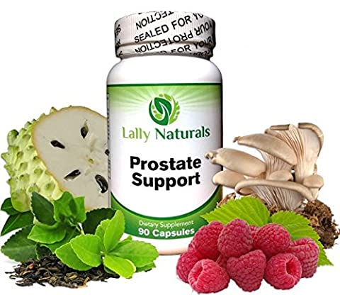 Prostate Support ★ Optimizes Prostate Function ★ Promotes Urinary Health ★ All Natural ★ The Best Prostate Supplement ★ Includes Saw Palmetto and Beta-Sitosterol ★ (90 - Prostate Treatment