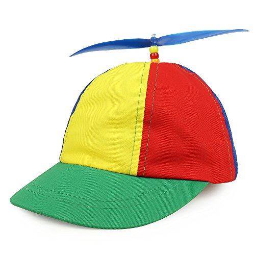 Armycrew Cotton Child's Multi-Color Propeller Helicopter Unstructured Baseball Cap - Multicolor ()