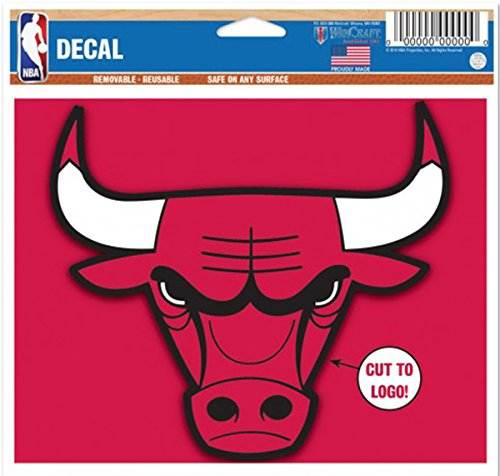 Chicago Decal - Removable and Reusable Basketball Sticker