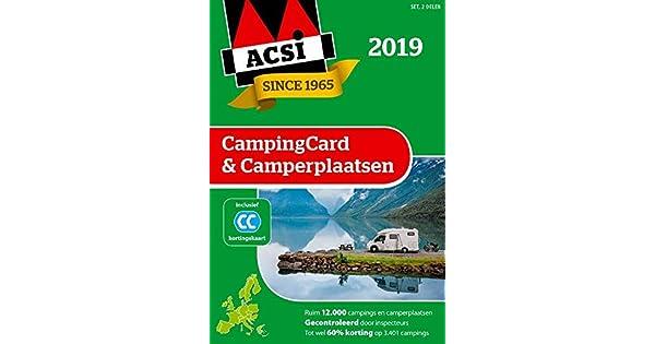 Amazon.com: ACSI CampingCard & Camperplaatsen 2019 set 2 ...