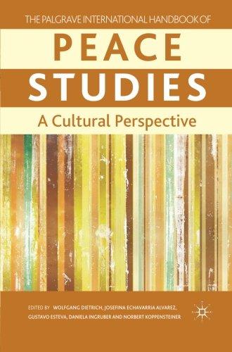 The Palgrave International Handbook of Peace Studies: A Cultural Perspective (Palgrave Handbooks)