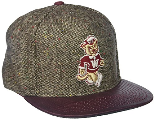 Zephyr NCAA Washington State Cougars Men's Legend Heritage Collection Hat, Adjustable, ()