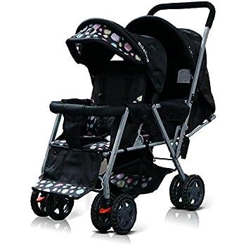 Amazon Com Adelina Designer Double Stroller Pink Baby