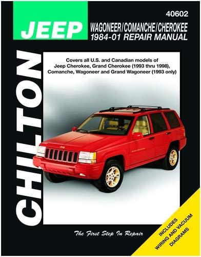 Chilton Wagoneer / Comanche / Cherokee 1984-1998 Repair ... on