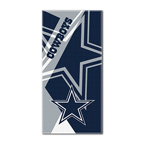 The Northwest Company Officially Licensed NFL Dallas Cowboys Puzzle Beach Towel, 34