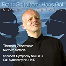 Thomas Zehetmair / Northern Sinfonia Gal Sinf.1/Schubert Sym.6 Symphonic Music