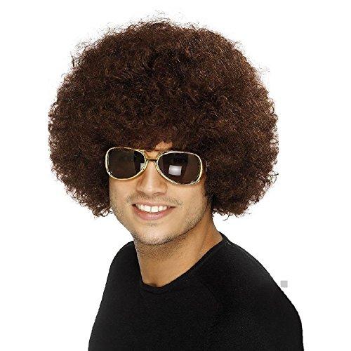 70s Funky Afro Wig Costume Accessory Adult (Toddler Cruella Deville Costume)