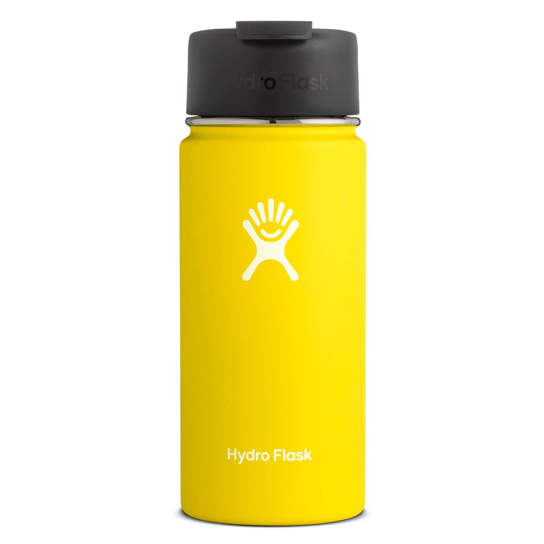 Hydro Flask Travel Coffee Flask - 16 oz, Lemon by Hydro Flask