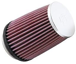 K&N RC-2600 High Performance Universal Clamp-on Chrome Air Filter