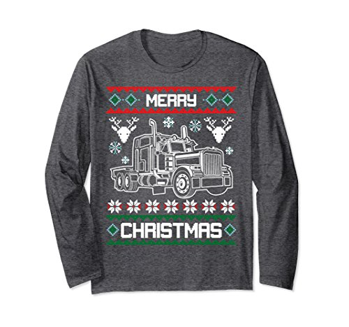 Unisex Truck Driver Merry Christmas