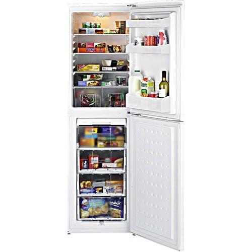 Beko CIS55834W Combi A+ Rated 50/50 Anti Bacterial Fridge Freezer in White