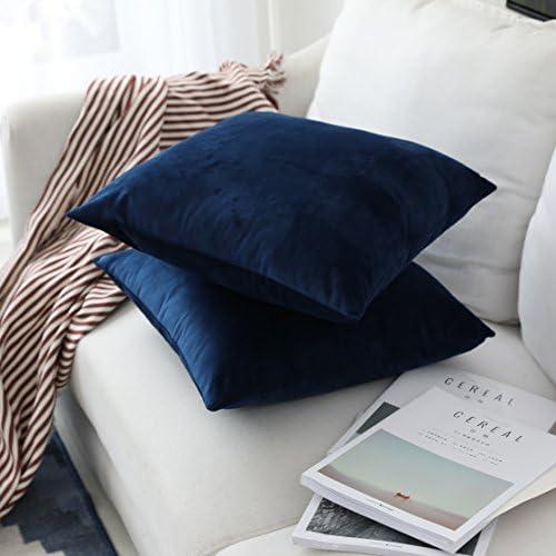 Amazon.com: UGASA - Funda de almohada de terciopelo suave ...