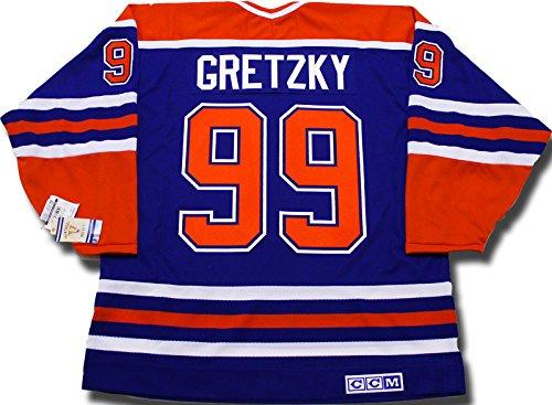 Wayne Gretzky Edmonton Oilers CCM vintage jersey Reebok/CCM