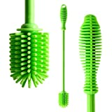 """GoodMuch Water Bottle Brush - Bottle Cleaning Brush with 12.5"""" Long Handle, Antibacterial Bottle Cleaning Brush for Water Bottle, Baby Bottle, Glass Bottle, Thermos"""