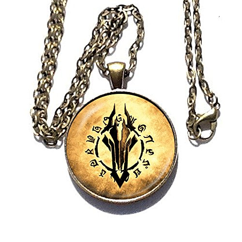Legion Costume Mass Effect (Assassin's Creed Darksiders emblem pendant - necklace)