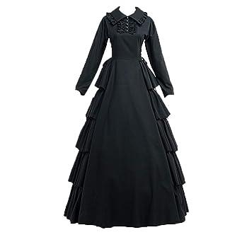 Amazon.com: Nuoqi - Disfraz de mujer para Halloween, vestido ...
