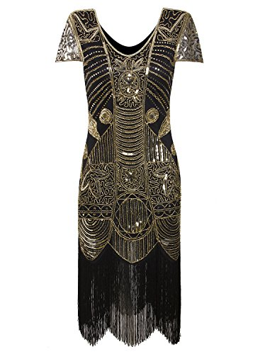 20s art deco dress - 2