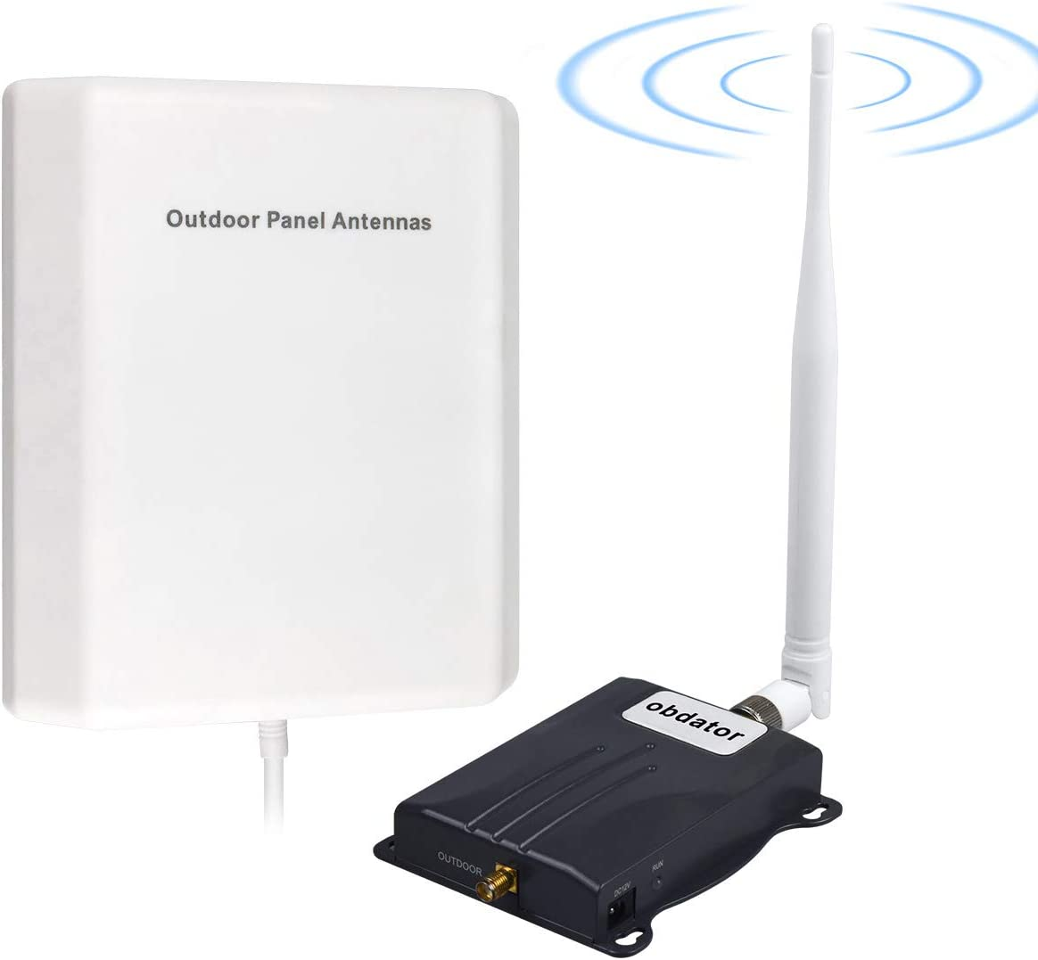 Home Cell Phone Signal Booster AT&T T-Mobile Signal Booster 4G LTE obdator Band12 /17 Cell Phone Booster ATT Cell Phone Signal Amplifier Improve Voice & Data Speed