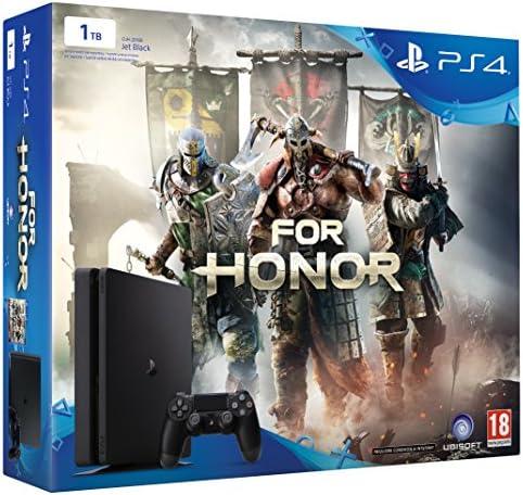PlayStation 4 Slim (PS4) 1TB - Consola + For Honor: Amazon.es ...