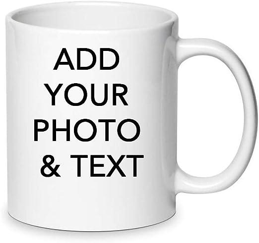 Personalised Mug Custom Printed Gift Present White Tea Coffee Your Image Photo