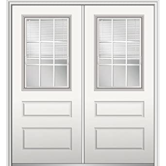 National Door Company Z029711R Fiberglass Smooth, Primed, Right Hand  In Swing, Exterior