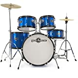 Batería Junior de 5 Piezas de Gear4music Azul