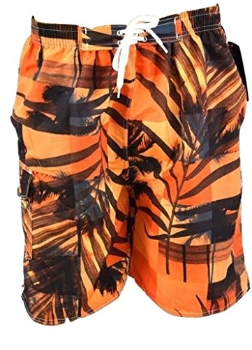 Men's Trunks Quick Dry Beach Shorts with Pockets for Surfing Running Swimming Watersports