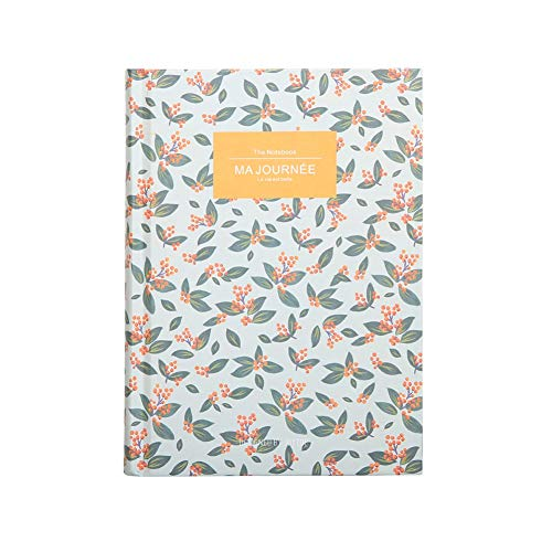 Composition Notebook, Field Travelers Paper Notebooks, 1 Subject Unlined Notebook, Cute B6 Hardcover Notes, 5X7 Journal Notebook Memo Scratch Writing Pads, 232 Blank Pages, Floral Printed