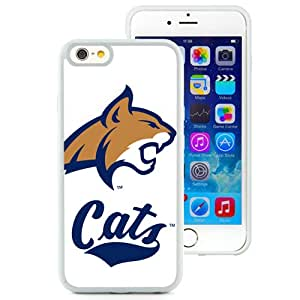 Fashion Custom Designed Cover Case For iPhone 6 4.7 Inch TPU Phone Case With NCAA Big Sky Conference Football Montana State Bobcats 1 Protective Cell Phone TPU Cover Case for Iphone 6 Generation 4.7 Inch White