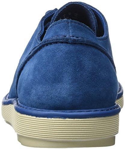 Clarks Herren Fayeman Kant Derby Blau (blue Suede)