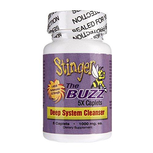 Stinger The Buzz 5x Strength Detox Grape Caplets 5 ct
