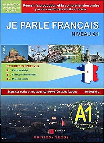 Jpf Je Parle Francais Delf A1 Livre Corriges 2cd Amazon Fr