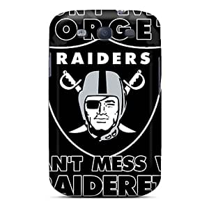 Awesome Design Oakland Raiders Hard Case Cover For Galaxy S3
