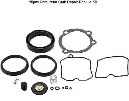 Topteng Reconstruir el carburador kit de reparaci/ón del motocr/ós por Yama-ha YZ250 YZ 250 2000 2001