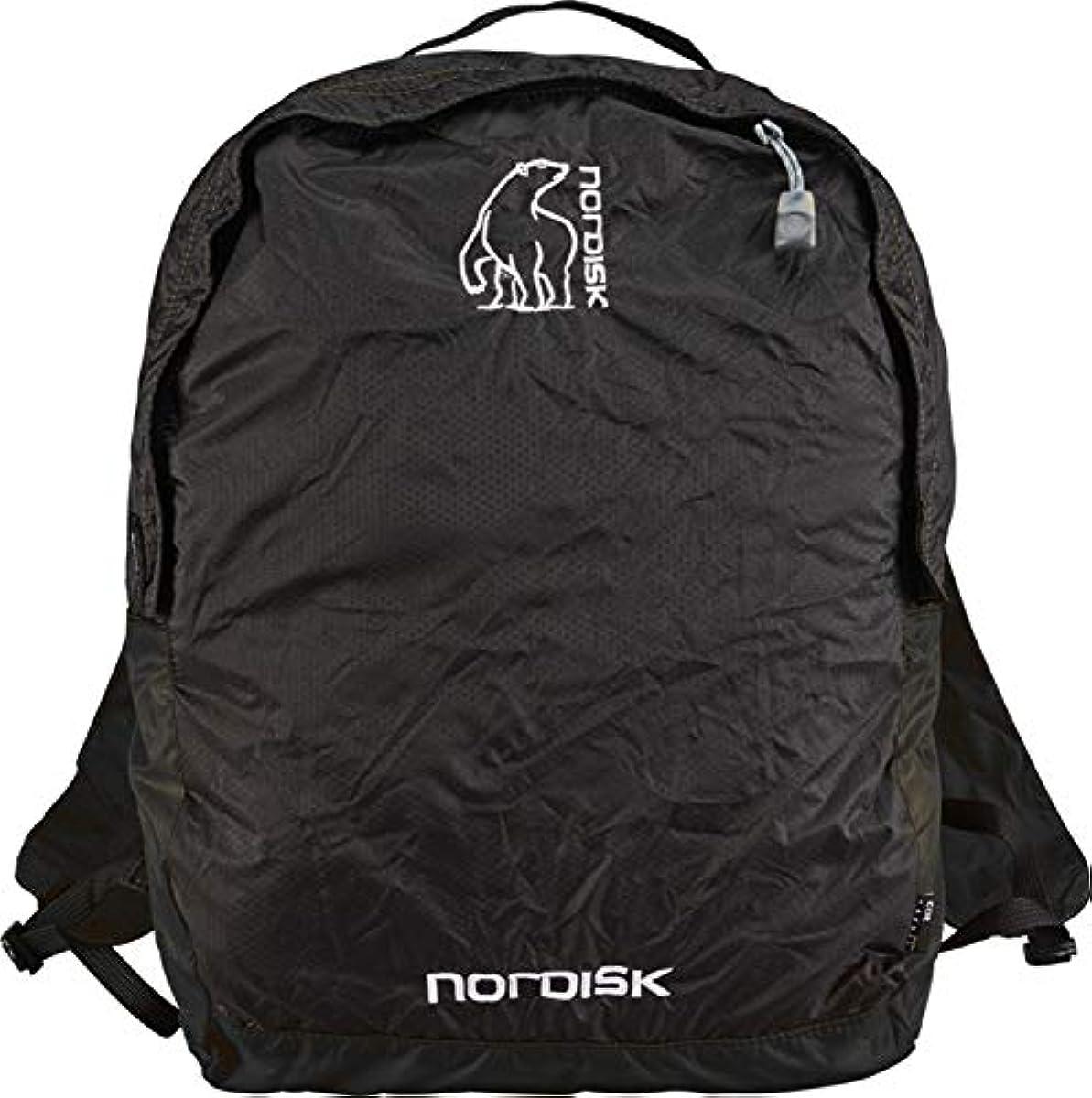 [해외] 노르디스크 포켓터블 가방 블랙 12L 133019