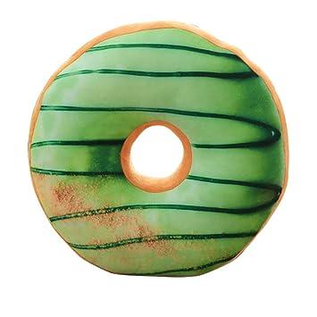 3D Simulation Donut Shaped Pillow