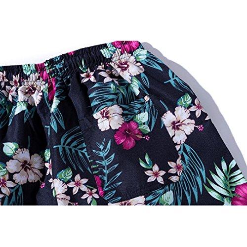 BañAdores De NatacióN Con Estampado Floral Casual Hombre LHWY, Pantalones Corto Suelto Con CordóN Ajustable Para Parejas