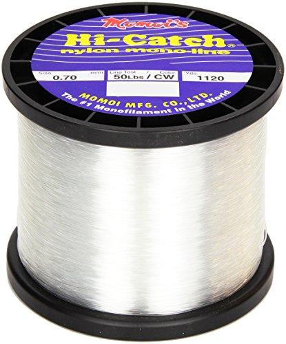 Momoi Hi-Catch 50-Pound 1120-Yard Clear White Line, 1-Pound Mono Review