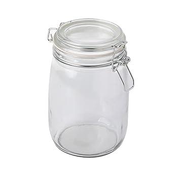 Amazon.de: ProCook Einmachglas mit Drahtbügel, 1 l