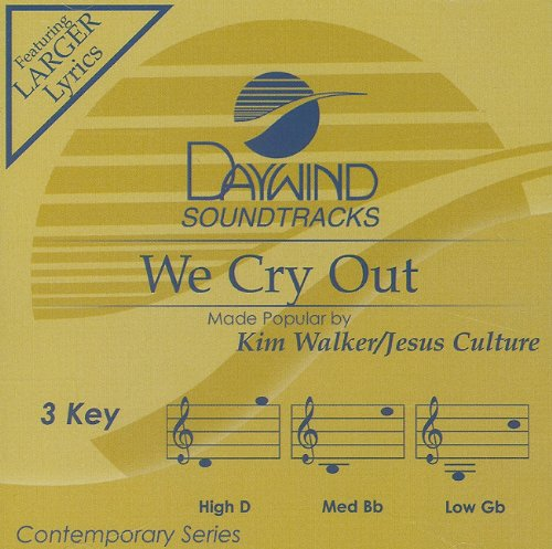 We Cry Out [Accompaniment/Performance Track] (Daywind Soundtracks Contemporary) PDF