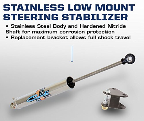 Carli Suspension 2014+ Dodge Ram 2500/3500 Low Mount Steering Stabilizer (CAR-CS-DLMSS-14)