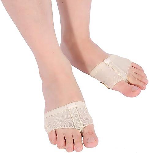 Women Girls Dance Shoes Foot Thongs Jazz Dance Paws Toe Shoes Half Lyrical Shoes