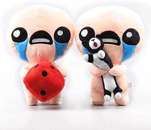 2 PCS The Binding of Isaac Plush Toys Afterbirth Rebirth Game Cartoon Isaac Soft Stuffed Toys for Children Kids Gifts 30cm