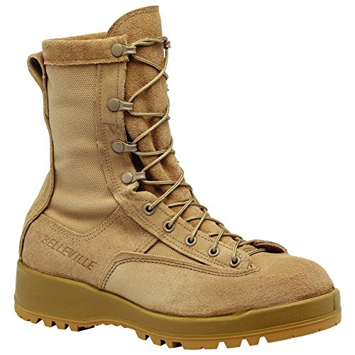 Belleville - 790 ST- Waterproof Tan Safety Toe Boot - 9.5R (Toe Tan Boot Safety)